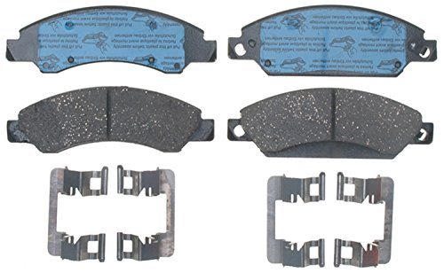 ACDelco 17D1092CH Professional Ceramic Front Disc Brake Pad - Brake Tahoe Front Pad Ceramic