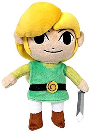 "Legend Of Zelda Wind Waker Link 8"" Plush by Unknown"
