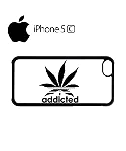 Addicted Cannabis Mobile Cell Phone Case Cover iPhone 5c White