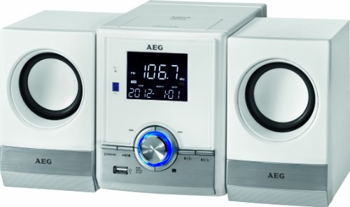 AEG MC 4461 Bluetooth Musik Center weiß