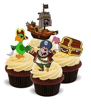 Novelty Pirat Mix Boy Kinder Geburtstag Party Essbar 12 Standup