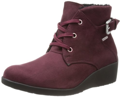 ROMIKA Aqualight 03, chaussures basses à lacets femme Rouge - Rot (Sangria 451)