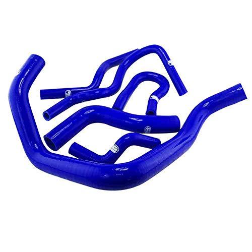 Silicone Turbo Hose Kit 6pcs Intercooler Radiator Blue Tube Fit For 92-00 Honda Civic EK EG B16A B18C: