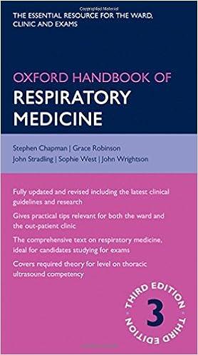 Kết quả hình ảnh cho Oxford Handbook of Respiratory Medicine 3rd Ed