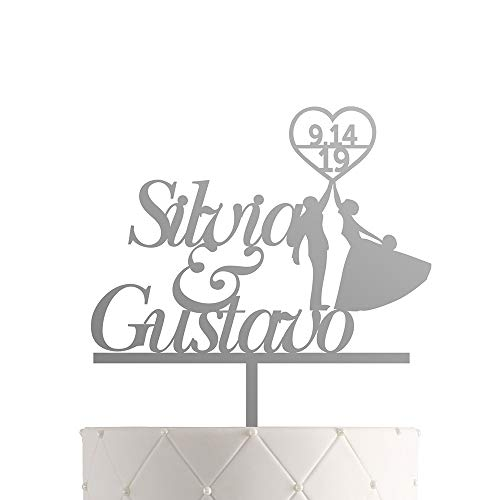 Personalized Wedding Cake Topper - Personalized Wedding Cake Topper With Customized