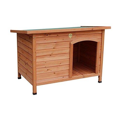 Caseta para perros Nobleza, estructura de madera, alto 70,5cm. Envío gratis
