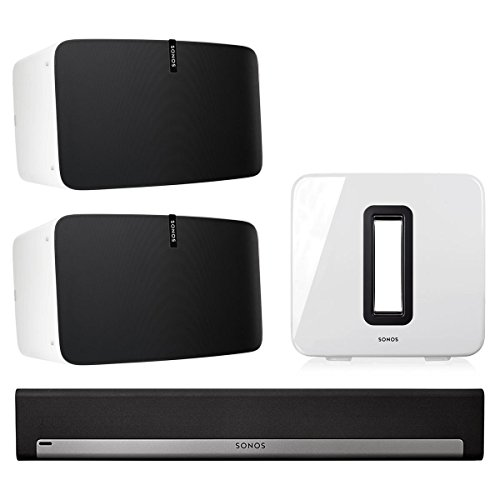 Sonos 5.1 Home Theater Set with Sonos Play:5, PLAYBAR, and SUB (Epic 5-1 Surround Sound Home Theater System)