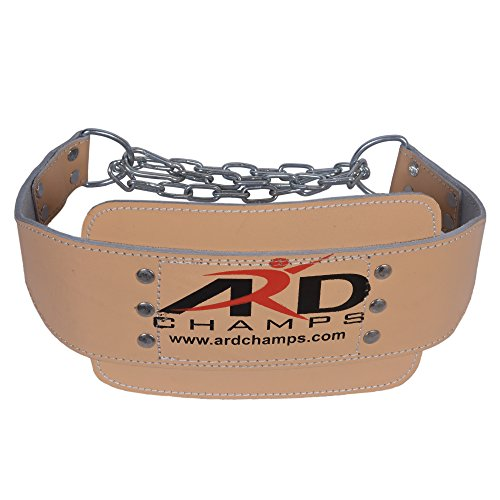 ARD Heavy Duty Leather weight lifting Dipping