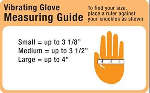 Intellinetix Vibrating Arthritis Gloves, Medium