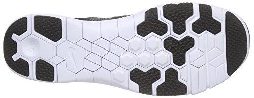 Nike Free Trainer 5.0 V6, Zapatillas de Deporte Interior para Hombre Negro / Blanco (Black / White-Bright Crimson)