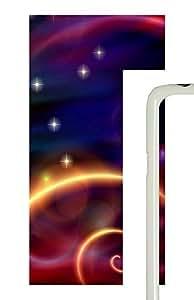 Samsung Galaxy S5 Stars shine PC Custom Samsung Galaxy S5 Case Cover White