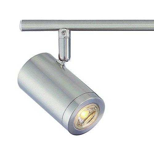Led Track Lighting Brushed Nickel: Designers Fountain EVT101227-35 Modern 3'. Brushed Nickel