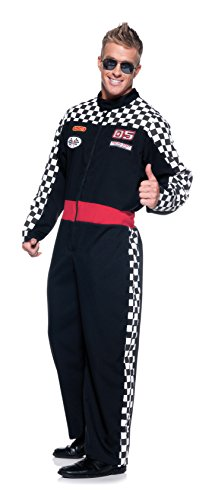 Race Costumes (Men's Race Car Driver Costume - Speed Demon)