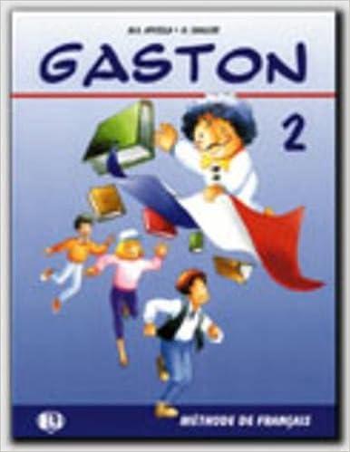 amazon com gaston level 2 book 2 french edition 9788881480326