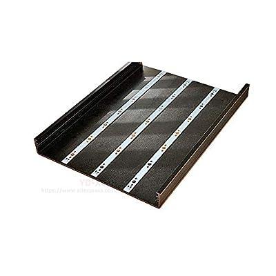Kamas 10pcs 1W 3W 5W LED Aluminum Base Plate 400mm 500mm 595mm PCB Board DIY For 10W 25W 50W Watt High Power Light Beads - (Color: 12LEDS 595X10X1MM) : Garden & Outdoor