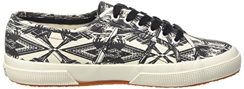 Superga Unisex-Erwachsene 2750-Fantasy Cotu Pumps Multicolore (Optical Paris)