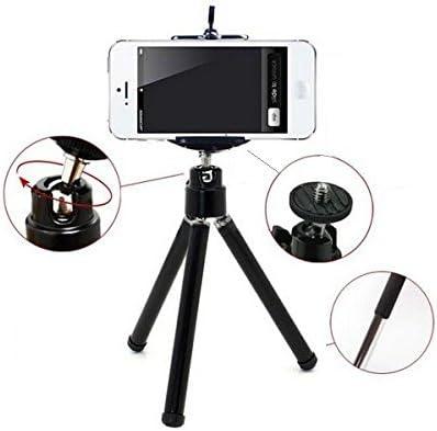 K-S-Trade Smartphone Tripod//mobile stand//tripod for Sony Xperia XA1 Ultra TM aluminium mobile phone holder