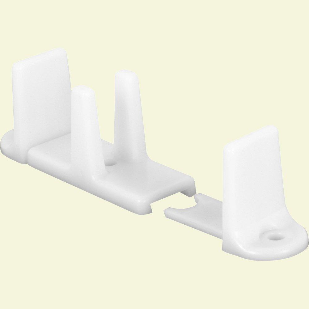 Prime Line 163236 Plastic Sliding Closet Door Bottom Guide 2 18