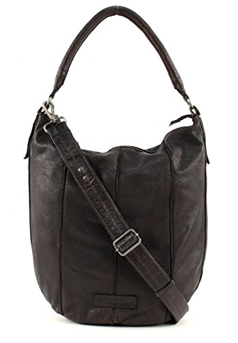 FredsBruder Booster Borsa hobo marrone scuro