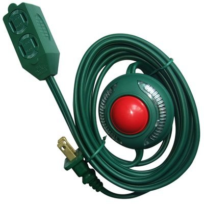 Utilitech Lighted On/Off Foot Switch - Christmas Colors