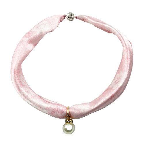 Nitaes Nita 100% Natural Mulberry Silk Special Imitation Pearl Necklace 17