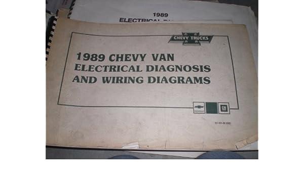 1989 chevy van wiring diagram 1989 chevrolet trucks chevy van   electrical diagnosis and wiring  1989 chevrolet trucks chevy van