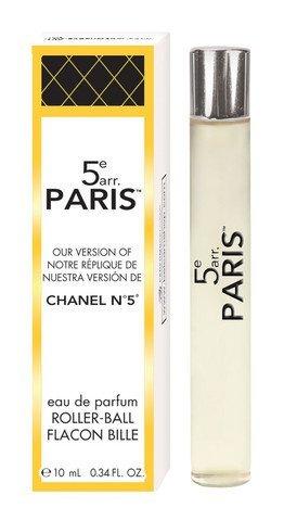 Parfums Belcam 5e Arr Paris Version of Chanel No. 5 Roller-Ball Fragrance, 0.34 Fluid Ounce - Chanel Green