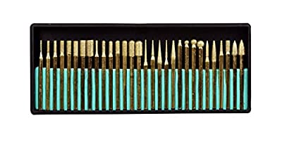 SE 82331TF 30-Piece Set of Titanium-Coated Diamond Burrs