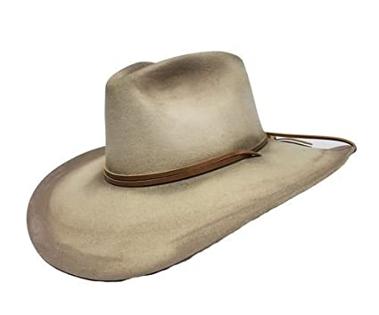 5cd3553e3d826 Stetson Kelly Distressed Wool Cowboy Hat at Amazon Men s Clothing store