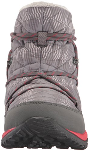 Columbia Women's Loveland Shorty Omni-Heat Print Snow Boot, Light Grey/Burnt Henna, 7.5 B US by Columbia (Image #4)