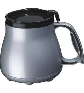 Amazon Com Low Rider No Tip Desk Mug Silver Home Amp Kitchen
