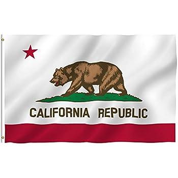 3ft x 5ft California Flag - Polyester - 3x5 Cali Flag Poly
