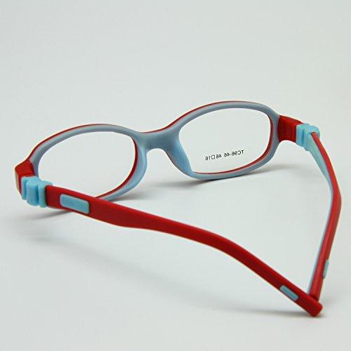 5e201871bb3 EnzoDate Kids Optical Eyeglasses Size 46 16 No Screw Bendable