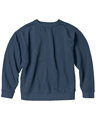 Denim Crew Sweatshirt - 8