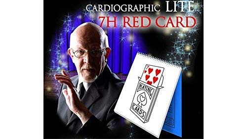 Cardiographic LITE RED CARD by Martin Lewis Trick
