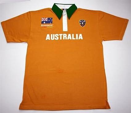 Australien Rugby Hemd Kurzarm Bonesmasher Rugby Wear