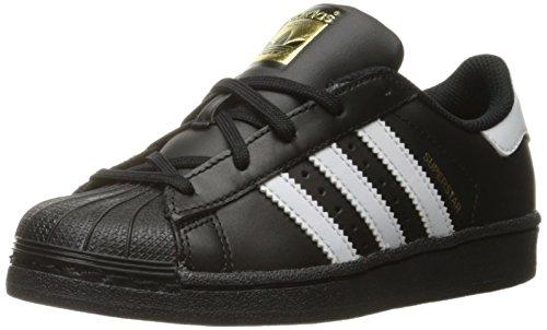 Adidas Star - adidas Originals Superstar Sneaker, White/Black, 13K M US Little Kid