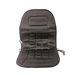 Wagan IN9738 Black 12V Heated Seat Cushion