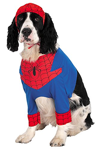 Small - Spiderman Dog Sm