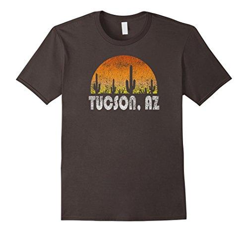 Mens Retro Tucson Arizona Desert Sunset Vintage T-Shirt Medium - Tucson Men For Men