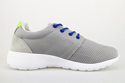 LUMBERJACK Sneakers Herren 44 EU Grau Textile Wildleder AG174