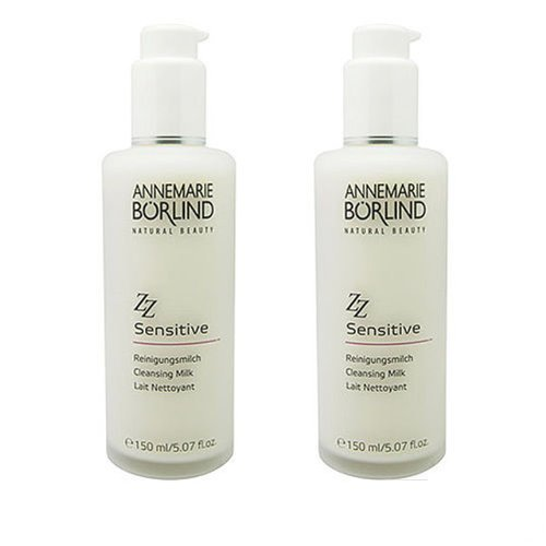 2x Annemarie Borlind Zz Sensitive Cleansing Milk 150ml X2= 300ml Cleanser by Annemarie Borlind