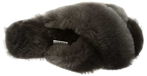 Womens Sheepskin Red Wine Slippers in Slipper Mayberry Australia Charcoal EMU wBvxfx