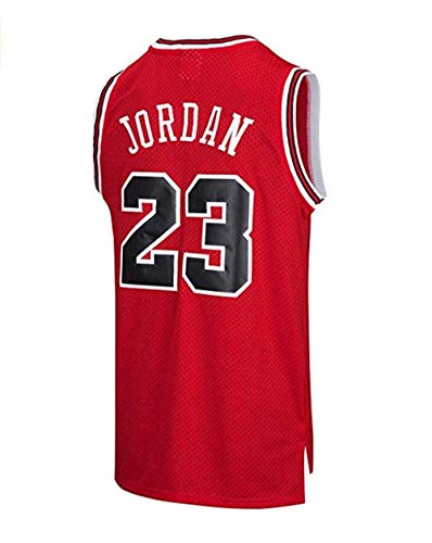 Jersey for Men Basketball red L Chicago Bulls Basketball Jersey