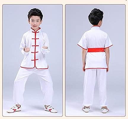 asdxz Artes Marciales Disfraces Niños Traje De Kung Fu De ...
