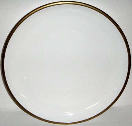 Bread Coupe Gold (Wedgwood Plato Gold Coupe Bread & Butter Plate)