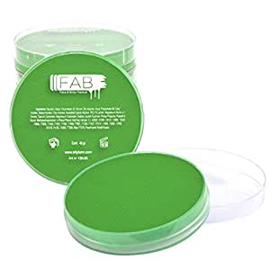 FAB Face Paint - Flash Green 142 (45g)