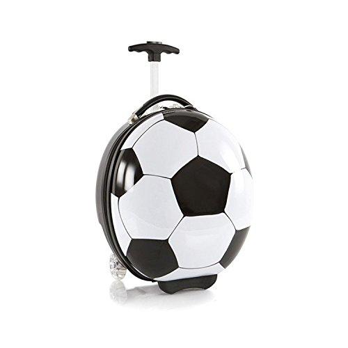 heys-kids-sports-luggage-black-white-print-hard-side-trendy-soccer-ball-16-inch