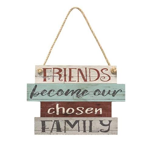 Rustic Wooden Wall Hanging Sign - Sign Displays the Phrase,