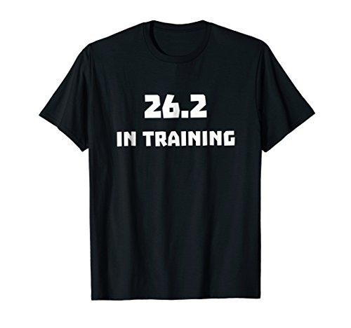 Training Runner Marathon (Mens 26.2 In Training Runner T Shirt Running Marathon Race 2018 Medium Black)